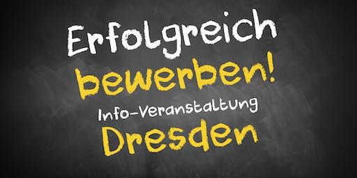 Bewerbungscoaching Infoveranstaltung Dresden