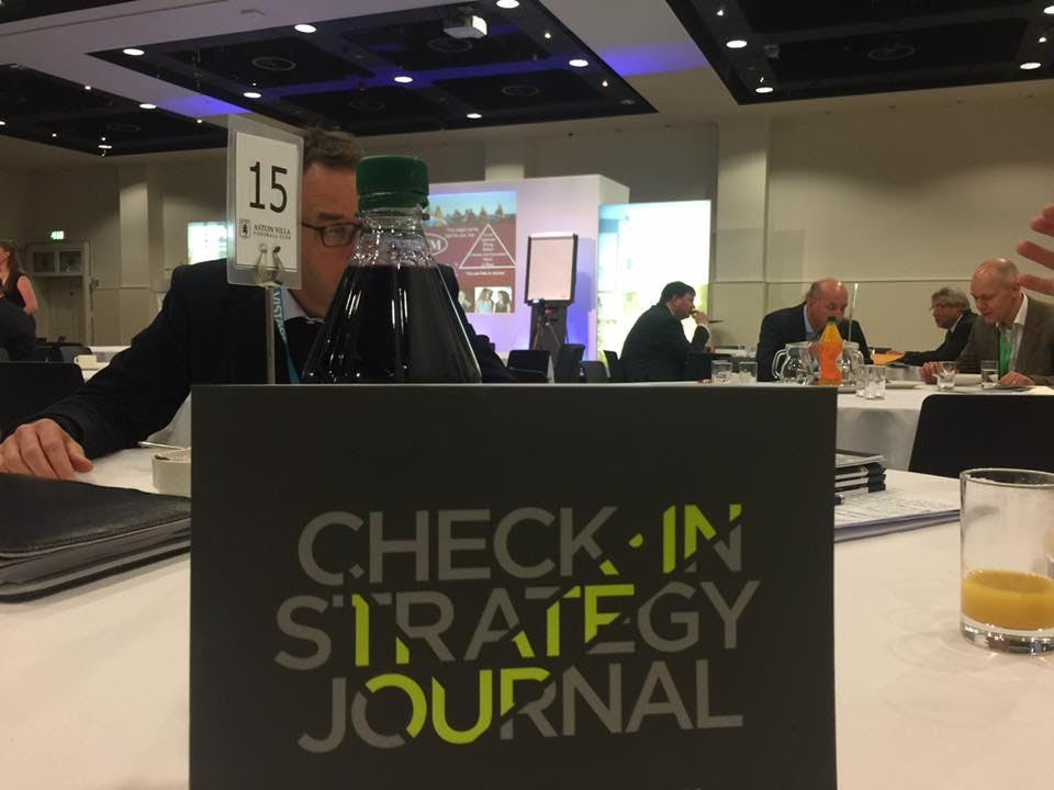 Check-In Strategy Journal Workshop - July 201