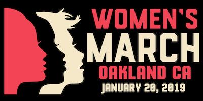 Women's March Oakland CA 2019