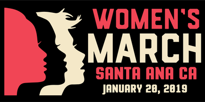 Women's March Santa Ana CA 2019