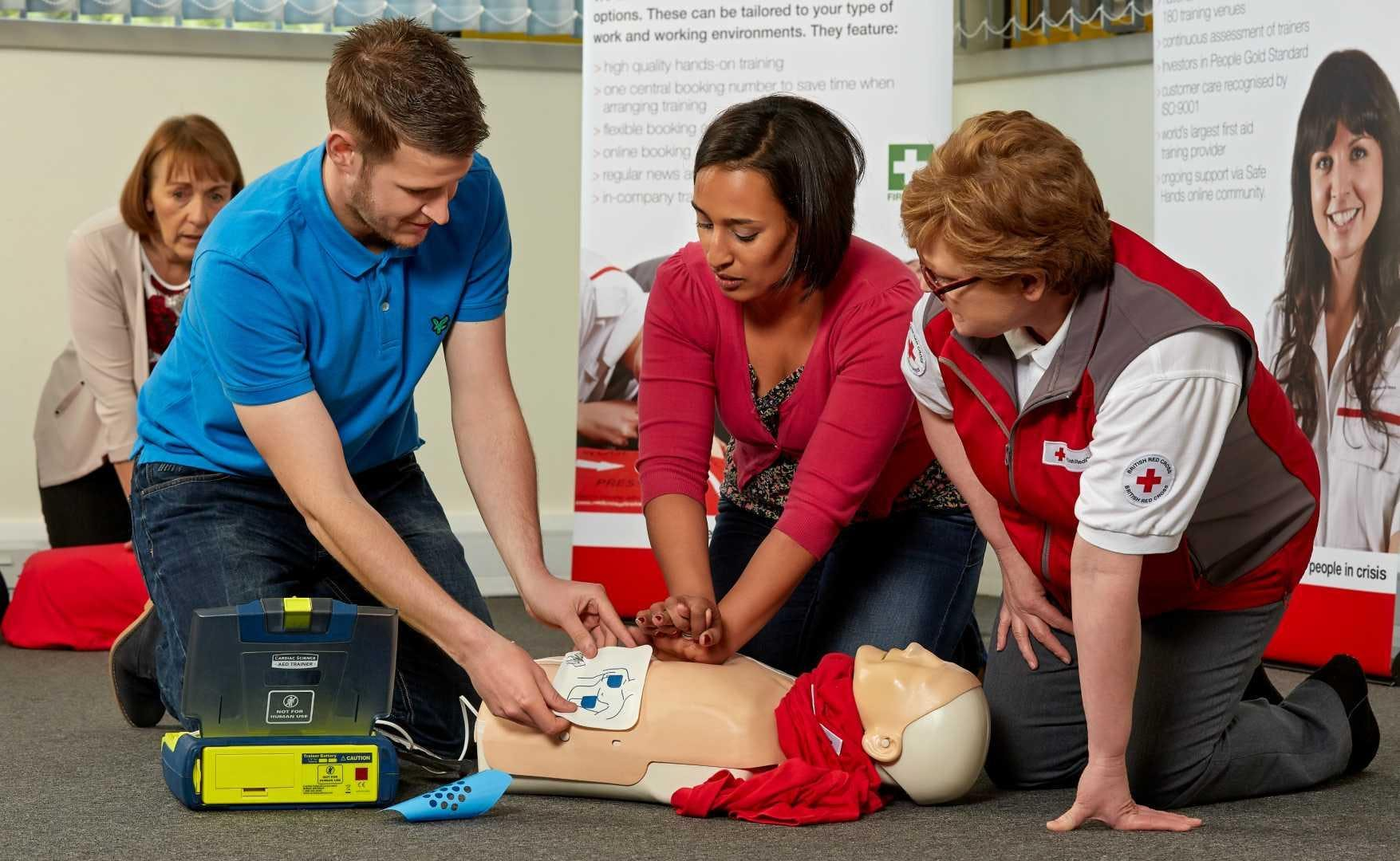 American Red Cross Cpr First Aid Aed Classes 12 Jun 2018