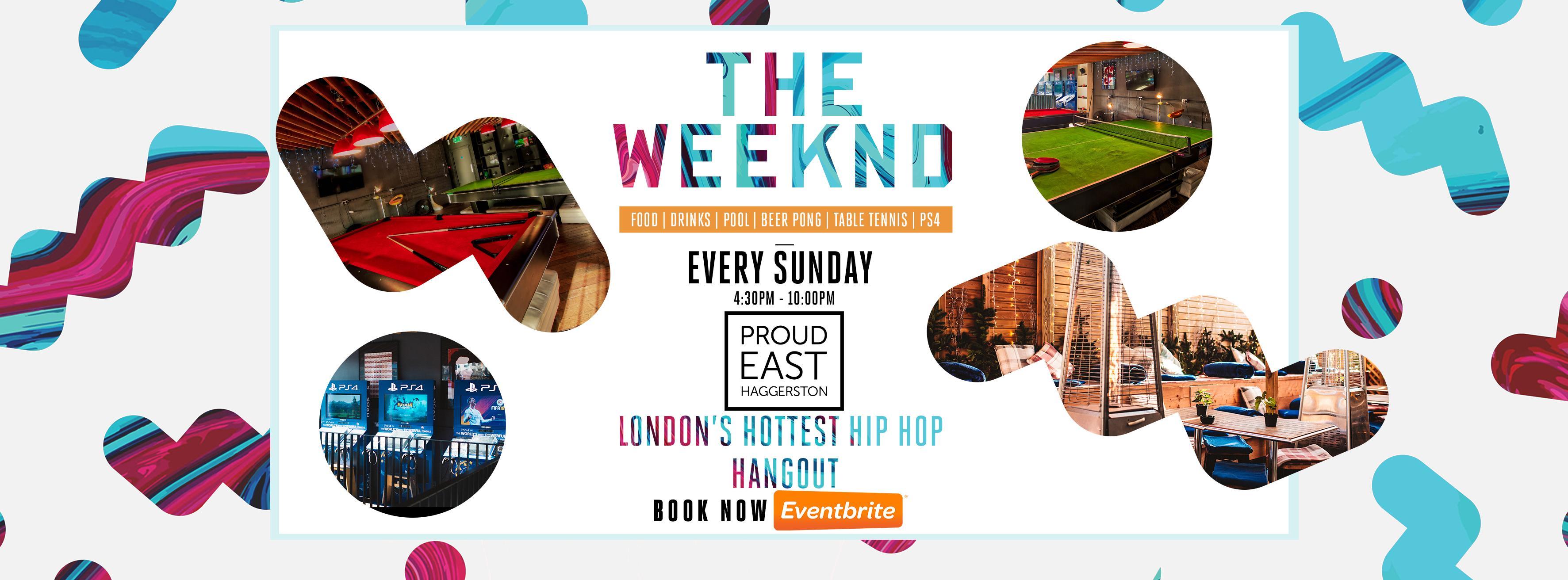 London's Hip Hop Hangout: The Weeknd