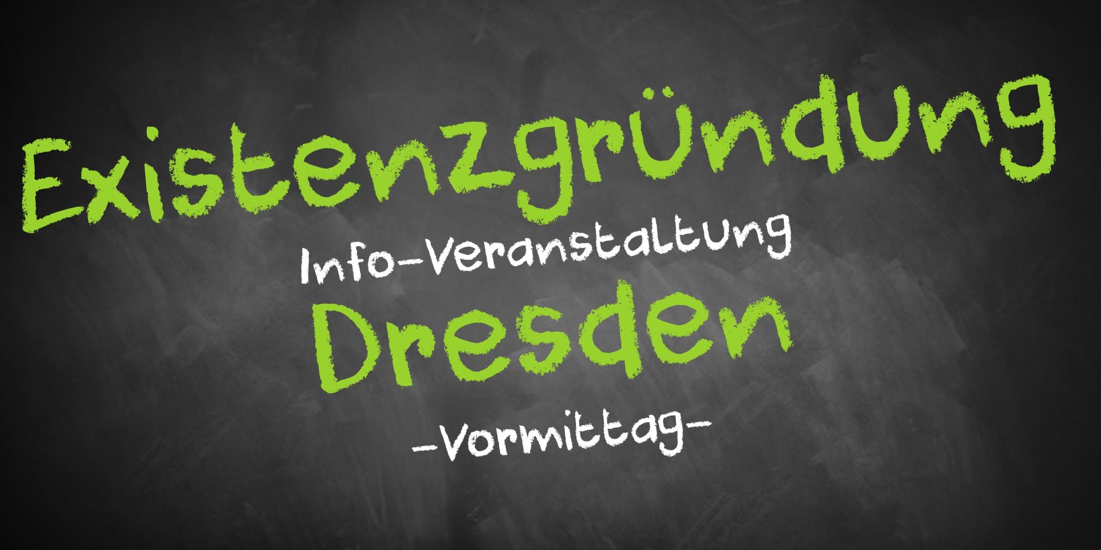 Existenzgründung Informationsveranstaltung Dresden