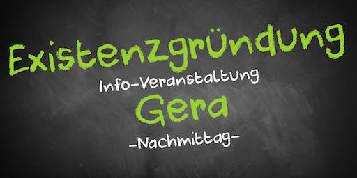 Existenzgründung Informationsveranstaltung Gera (Nachmittag)