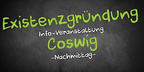 Existenzgründung Informationsveranstaltung Coswig (Nachmittag) Tickets