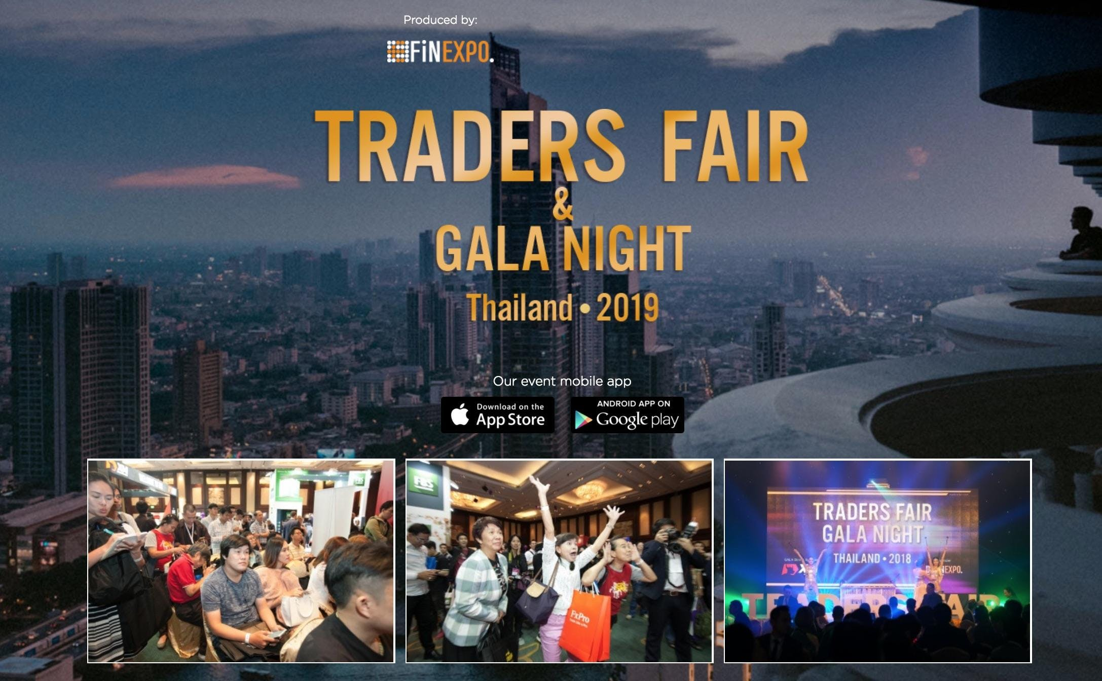 Traders Fair 2019 - Thailand (Financial Event