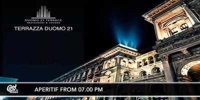 DUOMO21 TERRAZZA MILANO - GIOVEDI 22 MARZO 2018 - ROOFTOP COCKTAIL PARTY - LISTA MIAMI - ACCREDITI E TAVOLI AL 338-7338905