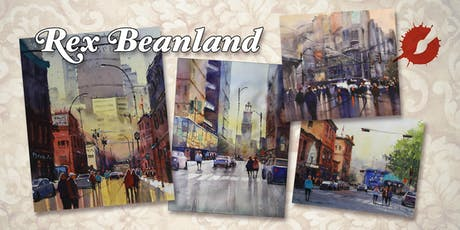 Urban Landscape O Watercolour Workshop By Rex Beanland Tickets
