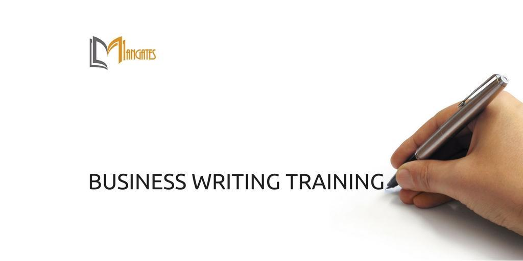 Business Writing Training in Ottawa on Oct 12th 2018