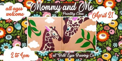 Mommy And Me Painting Class Kzoo Kalamazoo April Saturday 21 201
