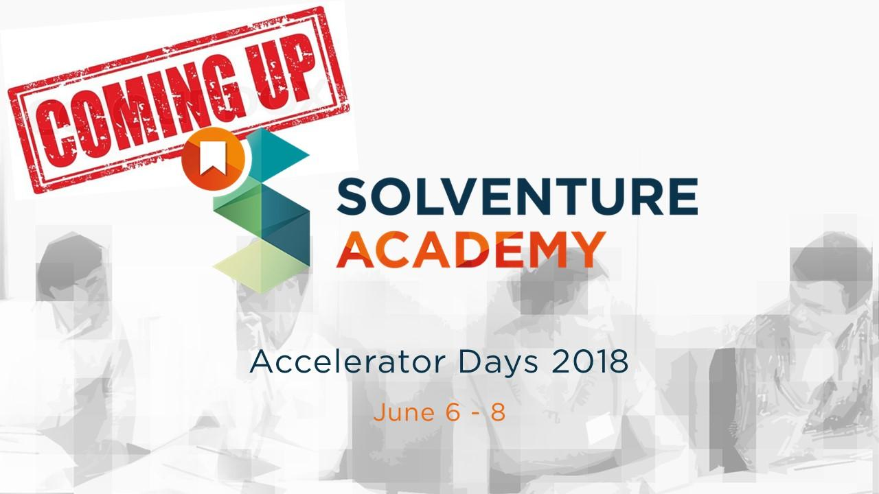 Accelerator Days: 3-day program on the Supply