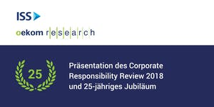 Präsentation Corporate Responsibility Review und...