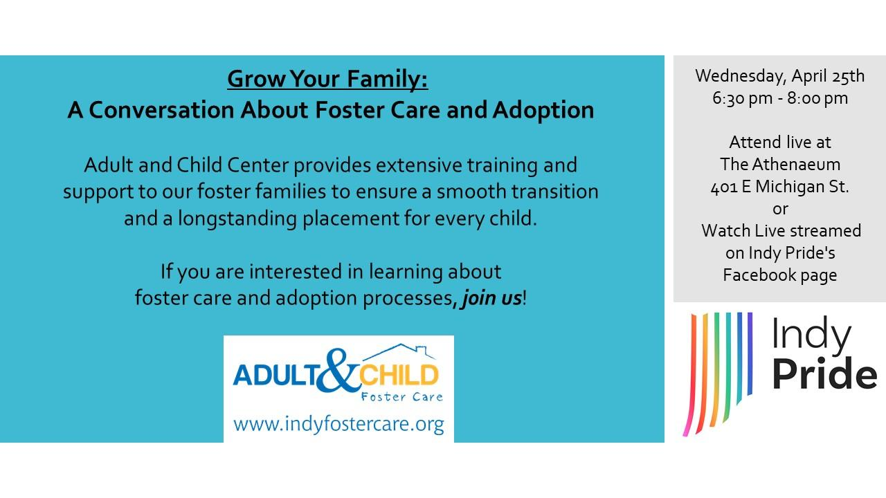 Grow Your Family: A Conversation About Foster