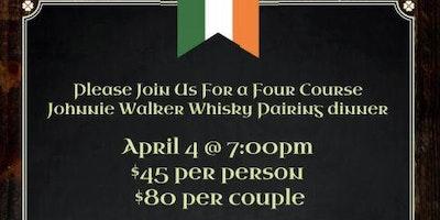 Johnnie Walker Whisky Dinner Pairing