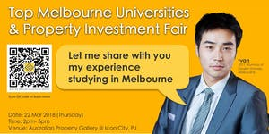 Top Melbourne Universities and Property Investment Fair