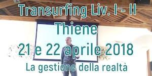Transurfing I e II liv. 21 e 22 aprile 2018