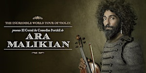 Ara Malikian en Badajoz - The Incredible World Tour Of...
