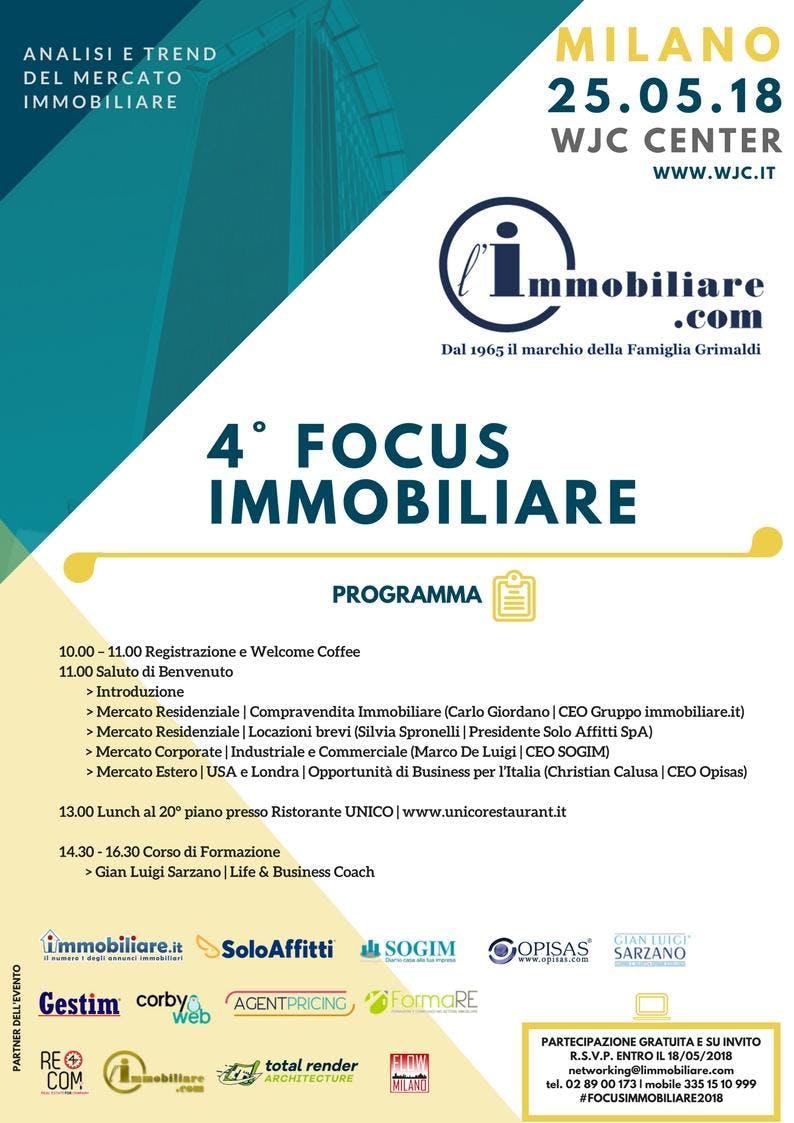4° FOCUS IMMOBILIARE
