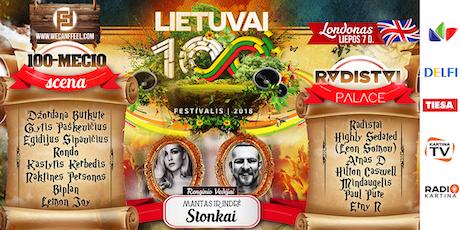 Lietuvai 100 Londonas Tickets