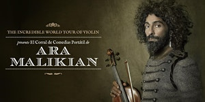 Ara Malikian en Elche (Alicante). The Incredible World...