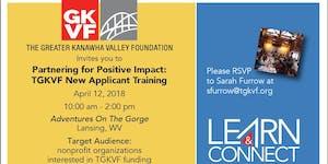 Partnering for Positive Impact: TGKVF New Applicant...