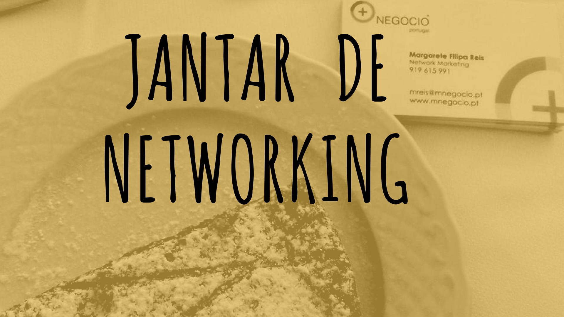 Jantar de networking no Porto: Contactos e op