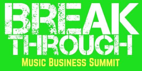 Breakthrough Music Business Summit Buffalo tickets