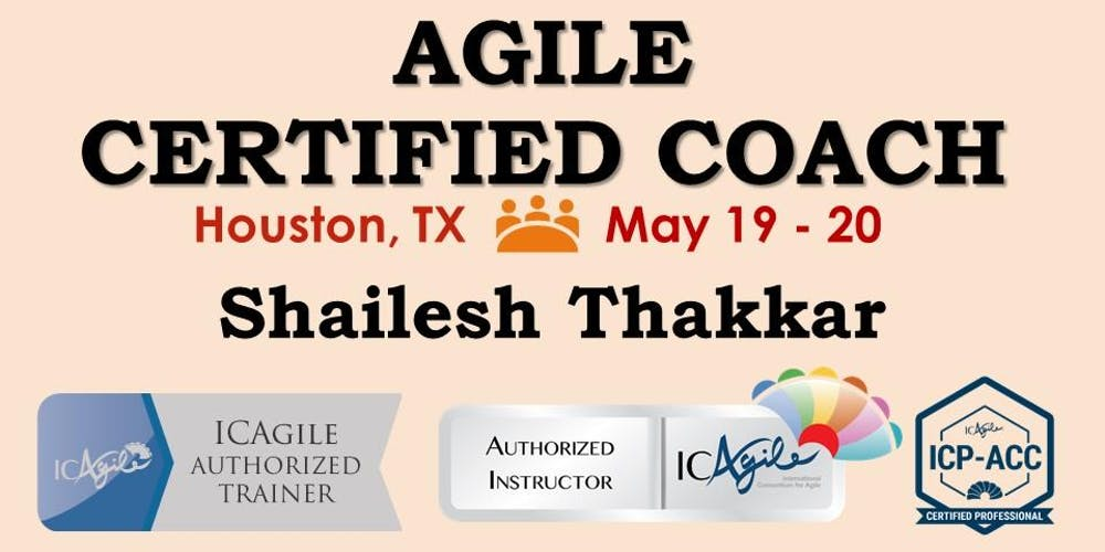 Agile Certified Coach Icp Acc Workshop Tickets Sat May 19 2018
