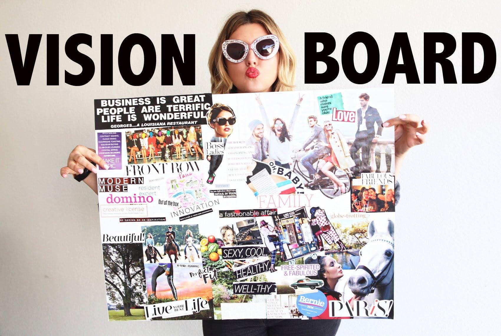 Craft Your Success With A Vision Board