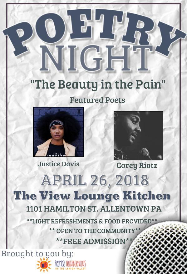 Poetry Night: The Beauty in the Pain
