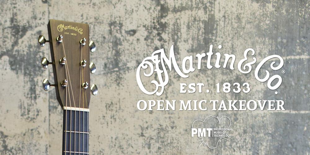 Martin Guitar Open Mic Takeover - Cambridge
