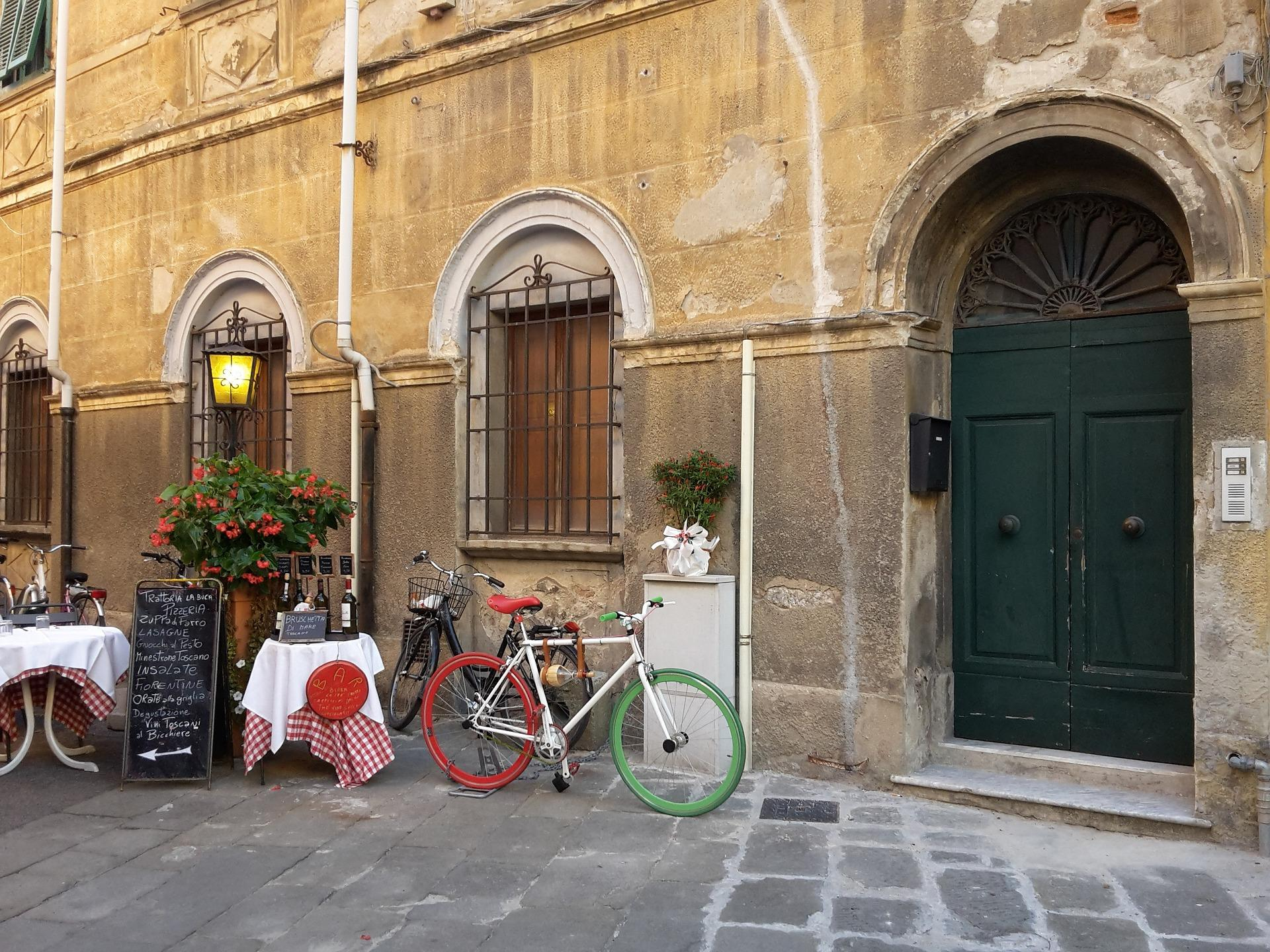 Lingua italiana in Bici - Italian language an