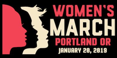 Women's March Portland OR 2019