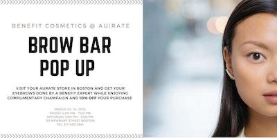 Fashion & Beauty Weekend - Brow Bar Pop Up Benefit @ AUrate
