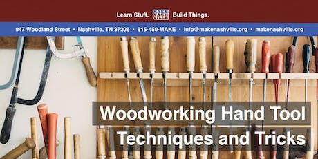 Woodworking Hand Tool Techniques and Tricks tickets
