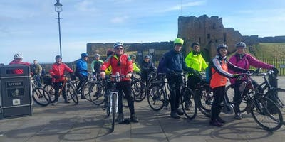 Beginners Bike Ride at the Rising Sun Country Park, North Tyneside