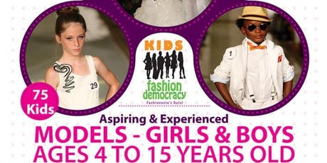 19d6940941c7 KIDS FASHION SHOW AUDITION - KIDS 4 TO 8 YEARS OLD FASHION SHOW ...