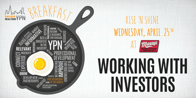 YPN Monthly Breakfast - Working with Investors