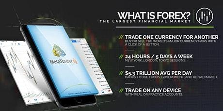 LEARN HOW TO FOREX TRADE: FREE DROP IN SESSION tickets