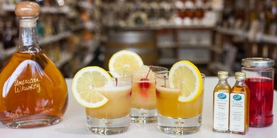 Shrubs - cocktails and refreshing drinks made with our fruit vinegars!