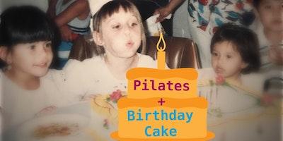 Pilates Birthday Cake