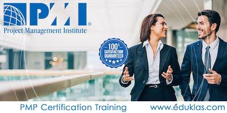 PMP Training | Project Management Class | PMP Exam Prep in Paterson, NJ|Eduklas tickets