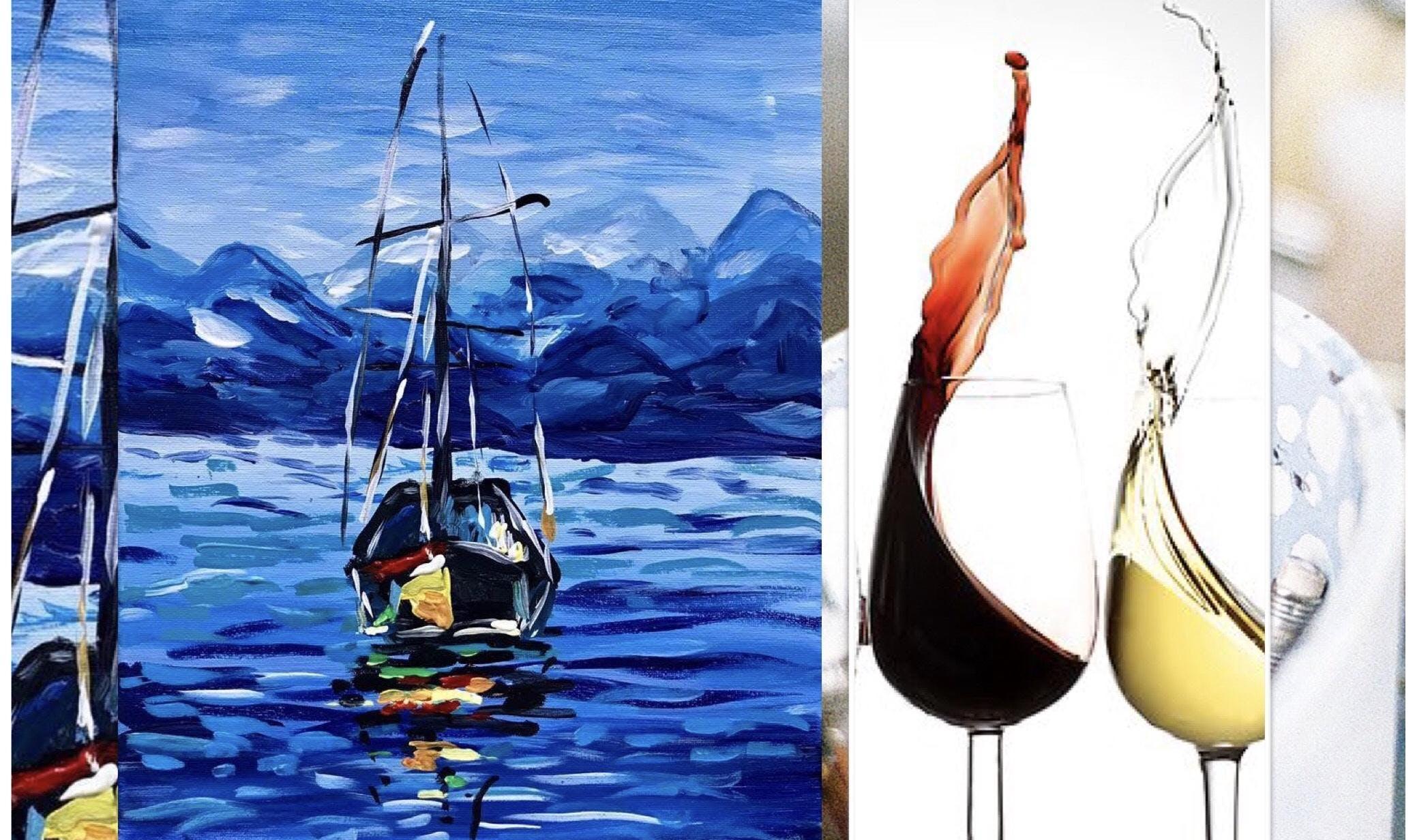 Wine, Cheese & Paint