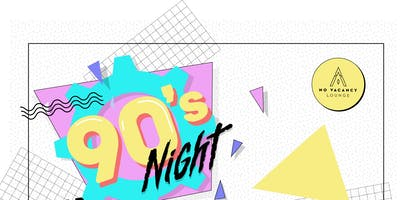 event in Portland: 90's Night Dance Party @ No Vacancy Lounge