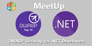 OWASP: Security for .NET Developers Meetup #AperiTech...