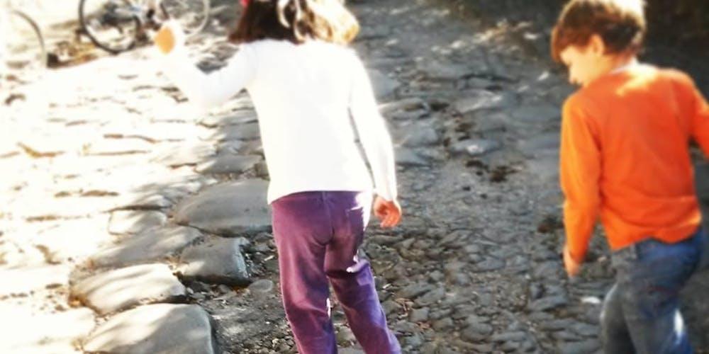 Archeotrekking con caccia al tesoro per bambini©
