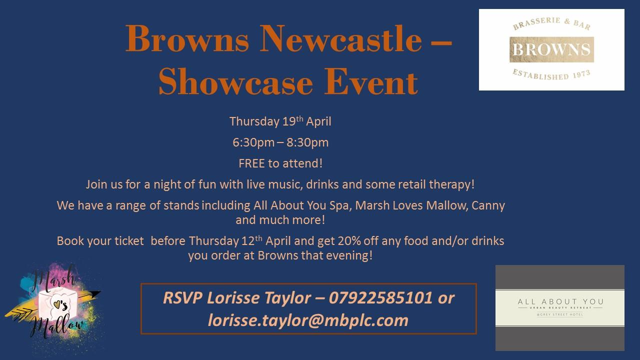 Shopping & Network free event