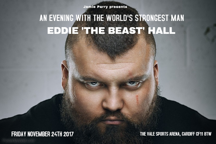 An Evening with Eddie Hall: Limerick