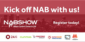 Kick off NAB 2018 with us!