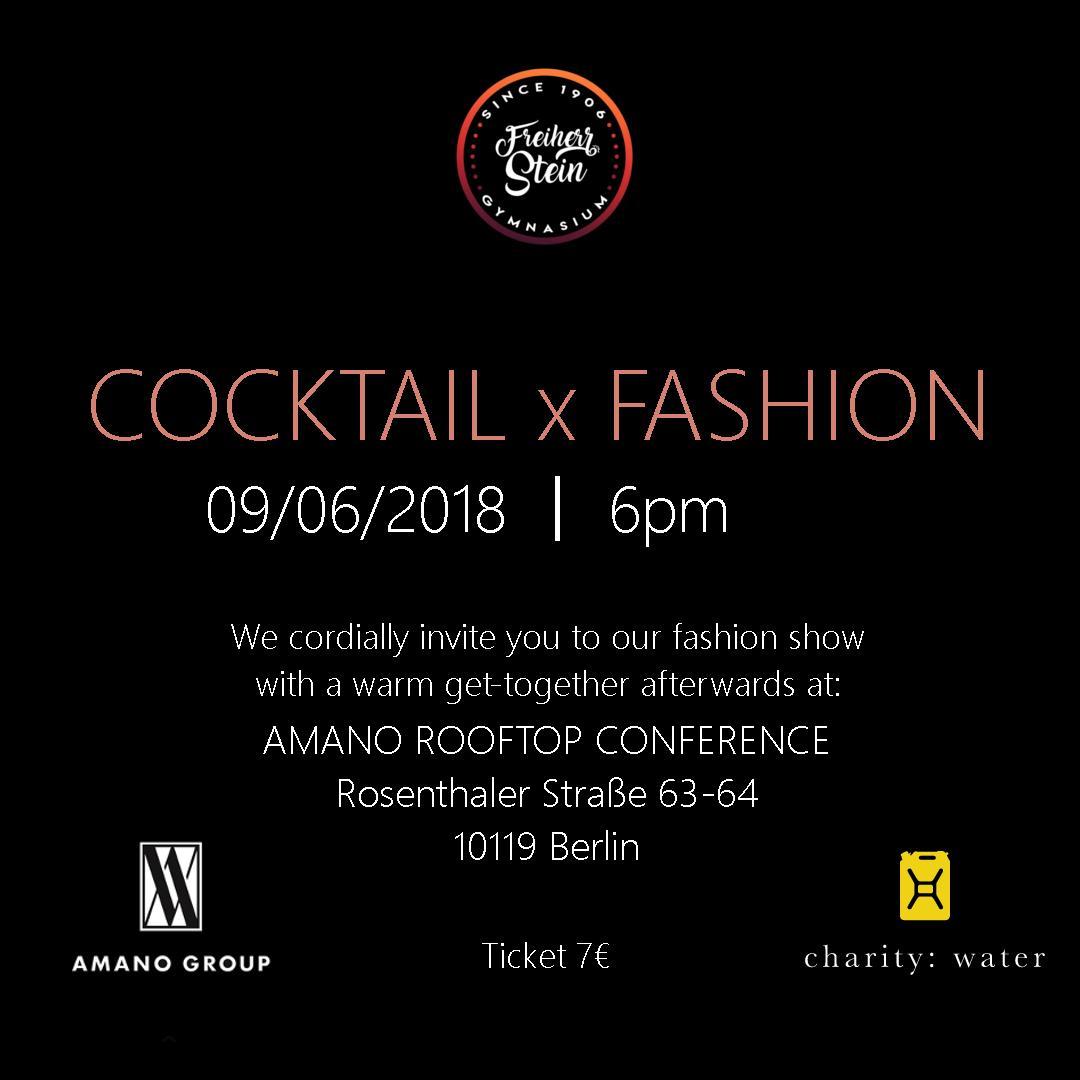 Cocktail x Fashion